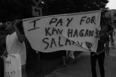 I pay for Kay Hagan's Salary