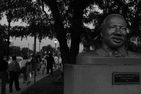 MLK Jr Bust