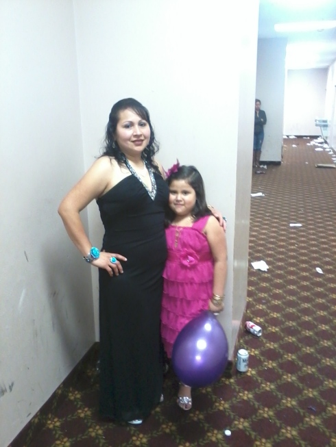 Lorena YANEZ-MATA & daughter