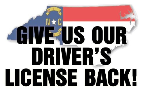 Tell NC lawmakers to let undocumented immigrants drive again: http://bit.ly/reclaimnclicense
